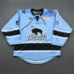Colton, Brittany<br>Blue Lake Placid Set w/ Isobel Cup & End Racism Patch<br>Buffalo Beauts 2020-21<br>#16 Size:  MD