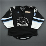 Colton, Brittany<br>Black Lake Placid Set w/ Isobel Cup & End Racism Patch<br>Buffalo Beauts 2020-21<br>#16 Size:  MD