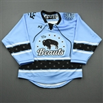 Blank, No Name Or Number<br>Blue - CLEARANCE<br>Buffalo Beauts 2020-21<br> Size:  SM
