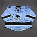 NNOB (No Name on Back), <br>Blue (Game-Issued)<br>Buffalo Beauts 2020-21<br>#35 Size: XXL Goalie
